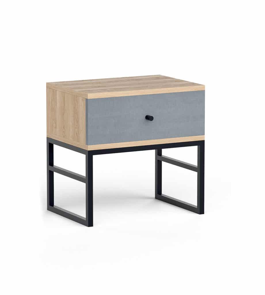 Mesita de noche moderna estilo nórdico Wooden Box